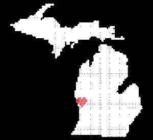 Michigan Love Dots