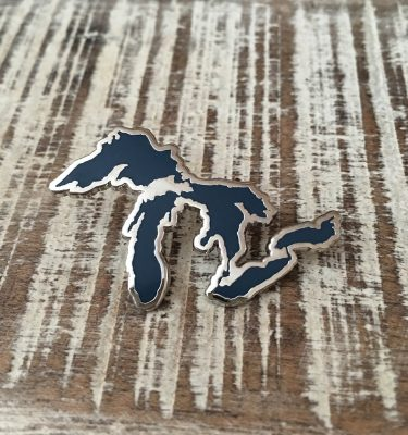Great Lakes Hard Enamel Pin